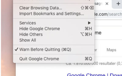 Rens din browser cache