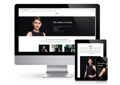 The Audrey Concept – Customized Webshop